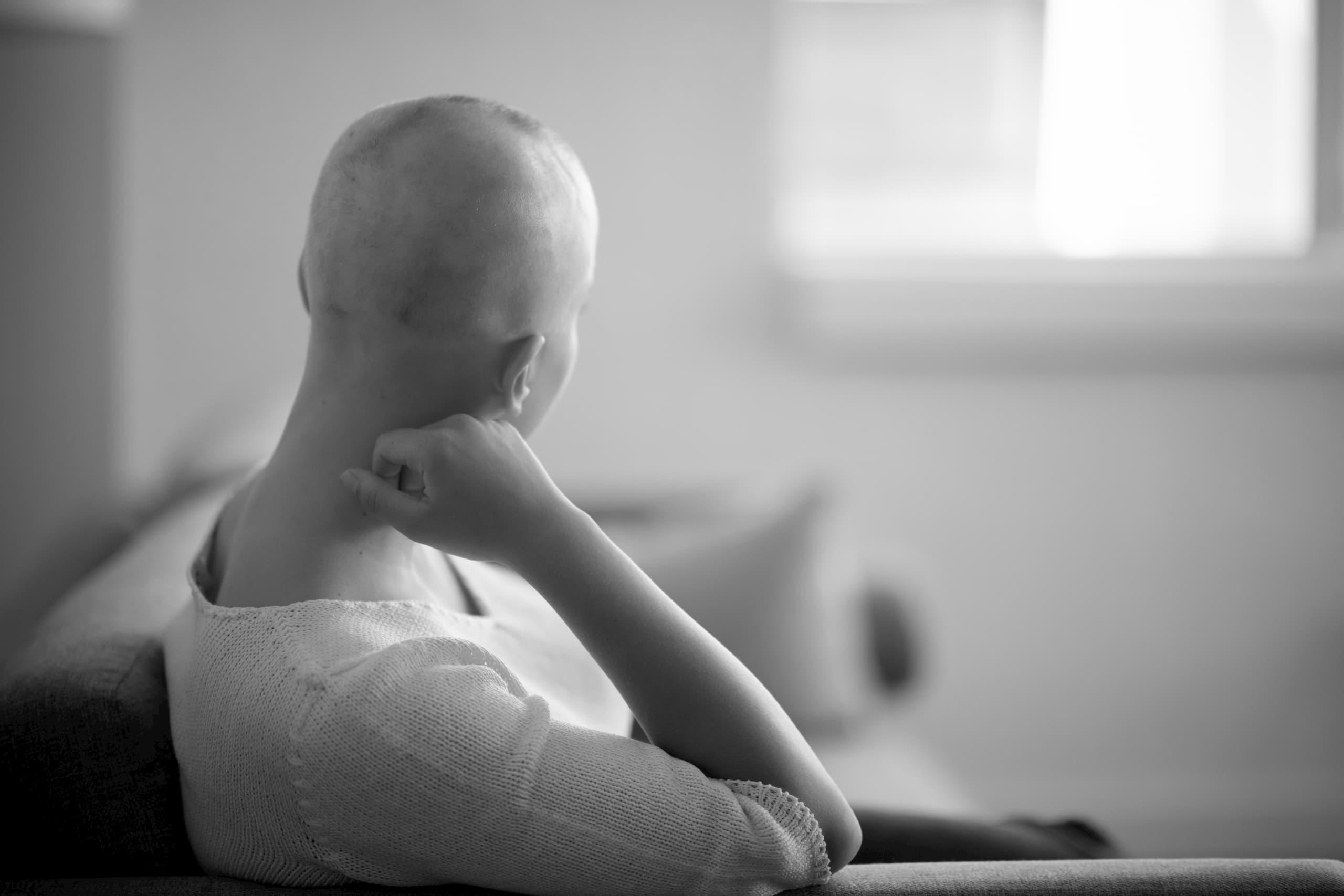 Patient avec cancer