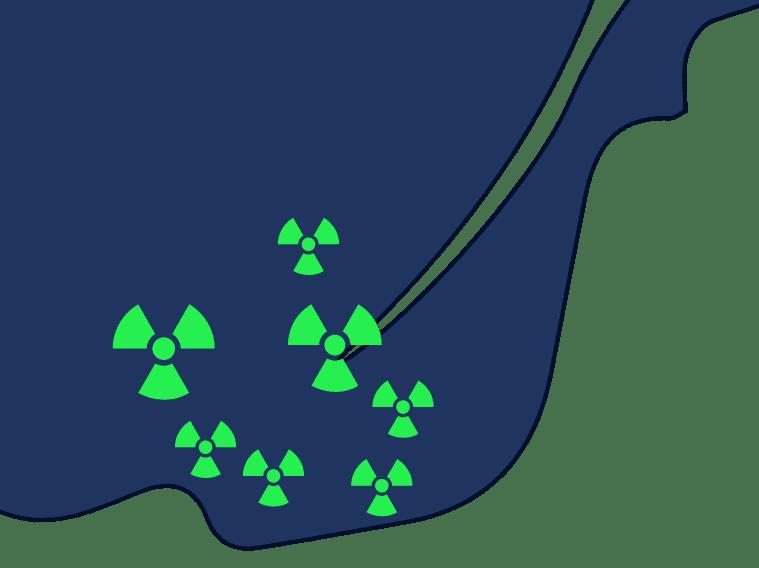 Radon secteurs desservis